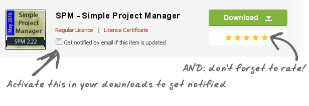 SPM - Simple Project Manager - 1